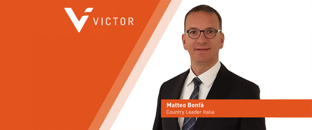 Matteo Bonfà nuovo Country Leader Victor Insurance Italia